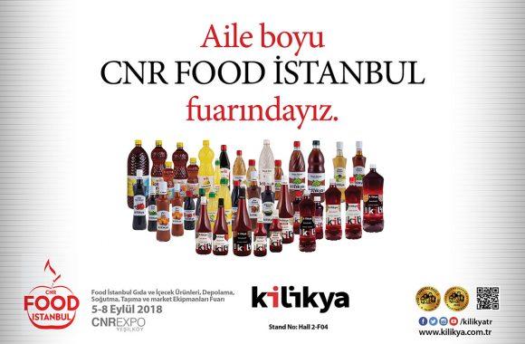 Kilikya, CNR Food İstanbul Fuarında